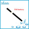 Micro vaporizer 510t vape pen smoke battery 280mah for ladies ecig