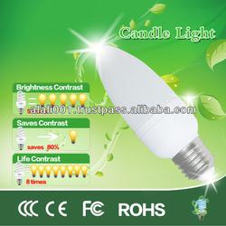 energy saving candle lighting bulbs best sell