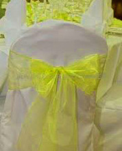 New fashion design lace chair cover sash