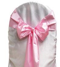 New fashion design white chair sashes