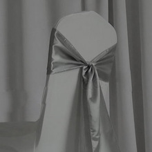New fashion wedding chair cover and organza sash