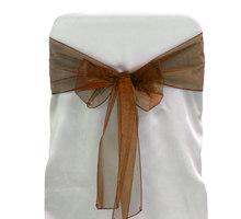 New fashion design taffeta sash for wedding chair