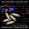 42 mm C5W / C10W 5050 4 LED SMD Xenon Light Bulp Lamp License Plate Interior Lamp