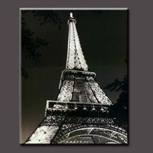 Modern Office Wall Decor Paris Eiffel Tower Painting