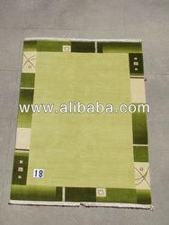 Lt Green Tibetan Rug Carpet all Handmade in Nepal