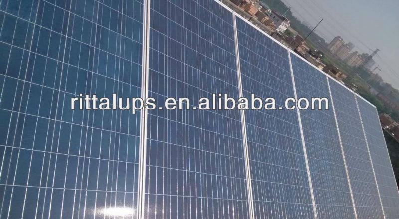 stable solar panle poly 18v or 36v 60w-300w grade A