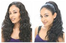Natural looking 100% brazilian virgin hair lace front human hair wigs white women