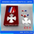 Metal da rússia insígnias militares, medalha de prêmio fabricante na china