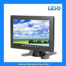 7 inch LCD PC monitors VGA/AV Touch screen optional small size pc monitor