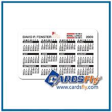 rekabetçi fiyat cep boyutu takvim kartı