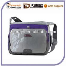 fashion vertical messenger laptop bag for men