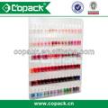 Profesional 2013 6 tier montado en la pared de acrílico de esmalte de uñas estante de exhibición/stand
