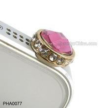 New Arrival Jewelry PHA0077 Cellphone Jack Dust Plug