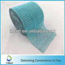 blue 24 rows 12cm 10 yards plastic embellishment trim