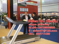 muscle Fitness equipment CE&ISO 9001 certificate Professional exercises machines Commercial Treadmill AC motor 580I/ITV