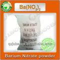 Jubao pureza química 99.3% fuegos artificiales polvo de nitrato de bario químicos fórmula