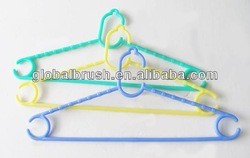 HQ8304-1 movable plastic PP multifunctional clothes hanger