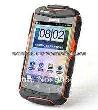 capacitive screen smartphone phone Waterproof Dustproof Shockproof WIFI Dual camera