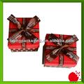 lovely natal caixas de presente impresso com arcos
