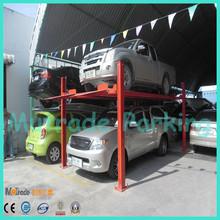 multilevel car parking four post car parking lifter