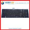 C850 Notebook Keyboard Repair US Black Original &New MP-11B93US-528W