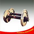 rodas de trem de fundição de peças