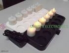 New 12 pcs LED Rechargeable Flameless Tea Light Candle-No batteries