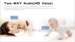 Baby monitor remote