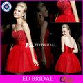 w120 roja tutu hinchada de cóctel off blusa hombro appliqued 2014 niñas vestido de fiesta