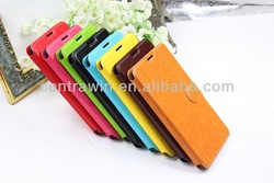 Hot sale Cheap mobile phone leather case for Samsung Galaxy Note3 with 2 card slots