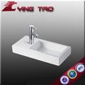 cerâmica banheira de lavagem pia mobiliário conjunto de acessórios de banheiro bacia vaidade top