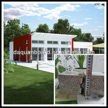 DQ prefabricated steel building/workshops& plants/real estate