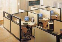 Aluminum frame workstation, Workstation industrial,Simple design office computer workstation desk(FOHF-331)