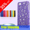 Mobile phone case Rubberized hard back cover birds nest plastic for case for iphone 5 case