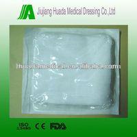 medical gauze swabs 8fold or 12fold blister packaging