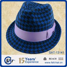 Factory make fedora hat
