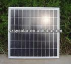 Sales 10W PV solar panels 17.4V MONO POLY