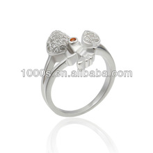 silver ring designs women 2012