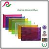 Export goods a5 size polypropylene zipper file folder