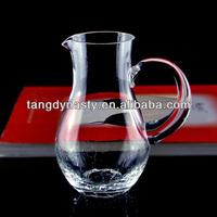 Hand made glass jar ,water jar,glass jug
