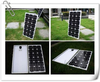 A Gread Cell 130w solar panel in china with IEC CE ISO SGS TUV