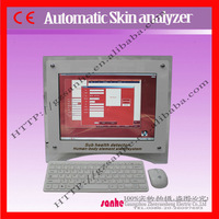 touch screen magnifying lamp skin analyzer machine with oem