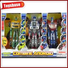 Kids cheap toy transforming robot
