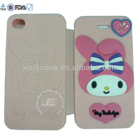 2013 JE pure love silicone phone case cover / cute and funny silicone phone case cover