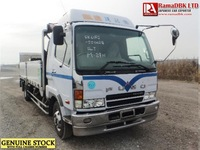 Stock#34306 MITSUBISHI FUSO FIGHTER FLATBODY USED TRUCK FOR SALE [RHD][JAPAN]