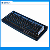 100 keys programmable POS keyboard with card reader from factory