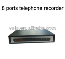 voice recording pen 8 lines voice recorder/sound recorder box,support web brower visiting.