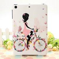beautiful colored drawing high quality PC hard case for ipad mini with Retina display