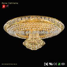 Golden color crystal lighting classical design