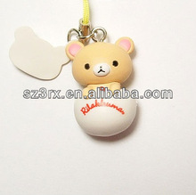 Lovely bear lanyard keychain/OEM plastic lanyard keychain/Custom Lanyard keychain